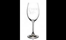 Gravírovaná sklenice na víno 0,25L 026600