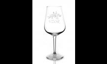 Gravírovaná sklenice na víno 0,32L 026650