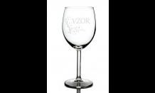 Gravírovaná sklenice na víno 0,3L 026698