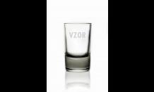 Gravírovaná sklenička panák 0,04L 026573