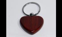 Přívěsek - Srdce (Palisandr) 026665