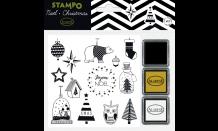 StampoNoël - Moderní Vánoce